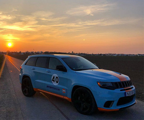 A Gulf Livery Jeep Trackhawk is the Best Trackhawk