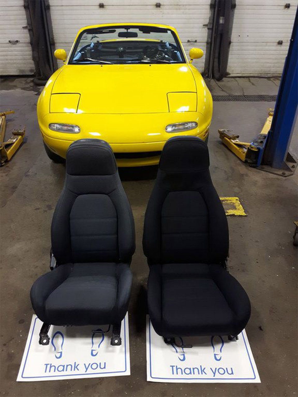 Mazda Dealer Surprises Miata Customer with New Seats