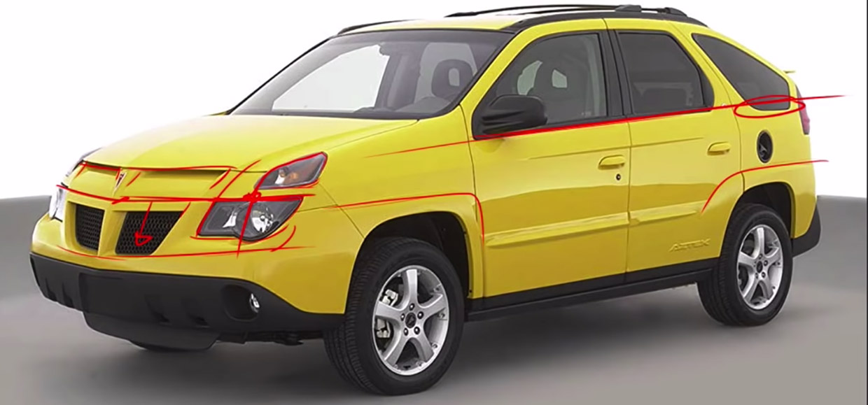 Fixing the Pontiac Aztek