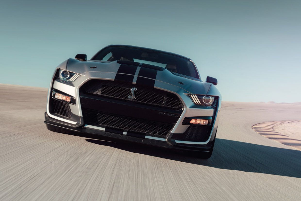 2020 ford mustang shelby gt500 horsepower and torque specs revealed