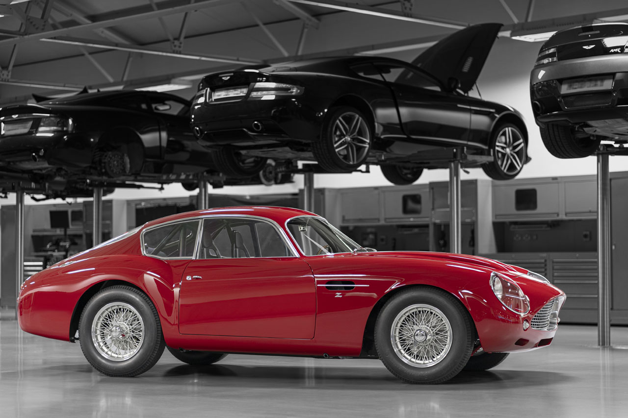 £6M Aston Martin DB4 GT Zagato to Debut at Le Mans
