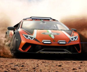 Lamborghini Huracán Sterrato is a Bonkers Off-Road Supercar
