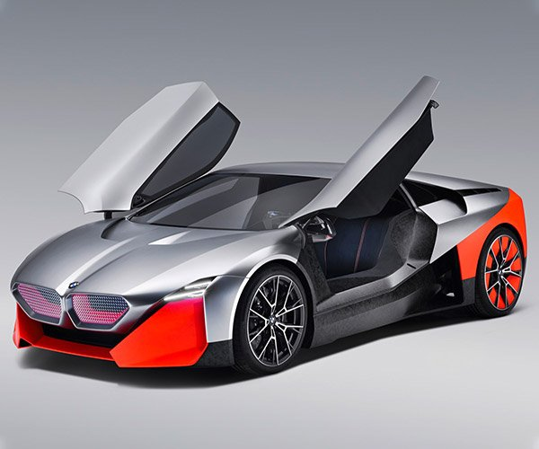 BMW Vision M NEXT Concept Teases Possible Future i8