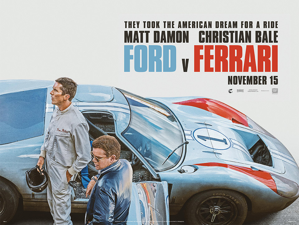 """Ford v Ferrari"" Is the True Story of the 1966 Le Mans"
