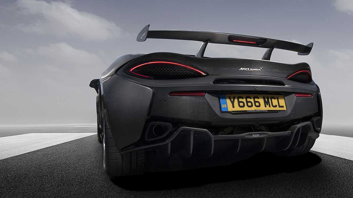 McLaren 570S Gain Downforce with New Option