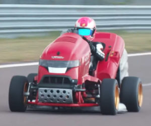 Honda Mean Mower Mk2 Went 0-100 mph in 6.285 Seconds