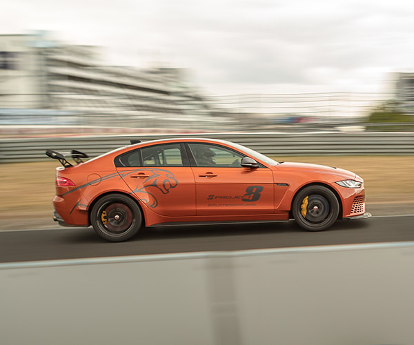 Jaguar XE SV Project 8 Cracks Its Own Nurburgring Record