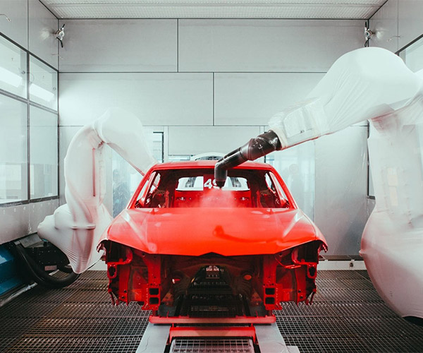 Go Inside Lamborghini's New Paint Shop
