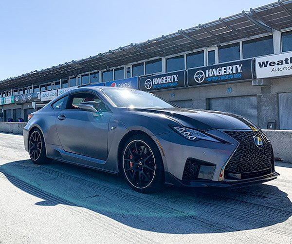 A Day at Laguna Seca with Lexus Performance Driving School