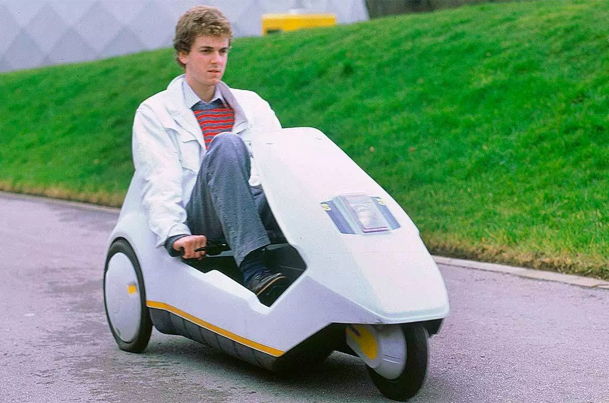 Retro-Future Mobility: The Sinclair C5 Electric Trike