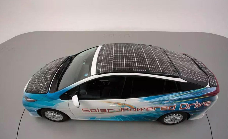 Toyota Shows off High-efficiency Solar EV Tech
