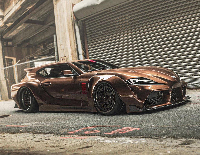 Artist Renders Toyota GR Supra Shooting Brake Concept