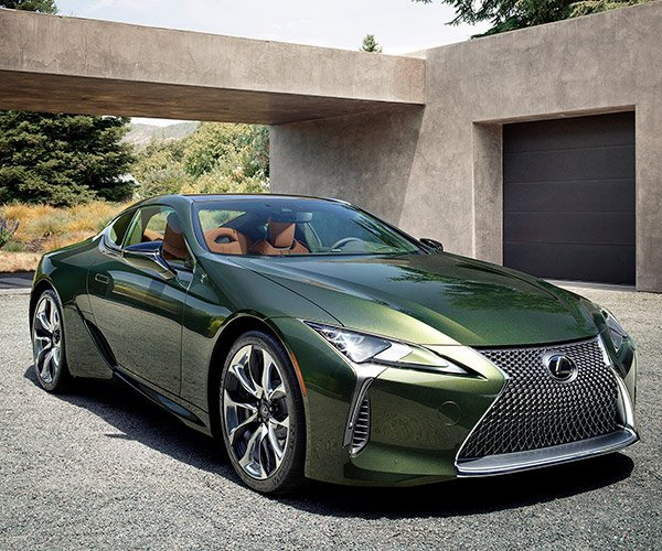 2020 Lexus LC 500 Inspiration Series: We're Green with Envy