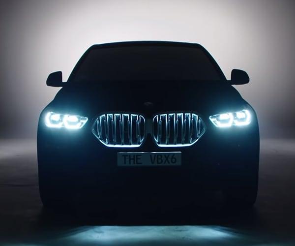 BMW Vantablack X6 Is the Blackest Car Ever