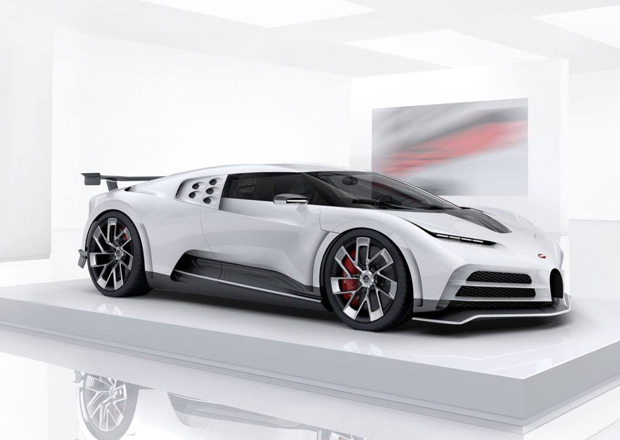 The Bugatti Centodieci Is a $9 Million Supercar Based on the Chiron