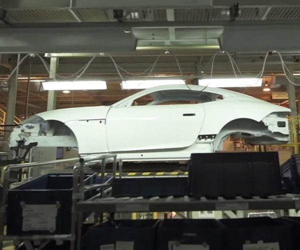 Inside the Jaguar F-TYPE Factory