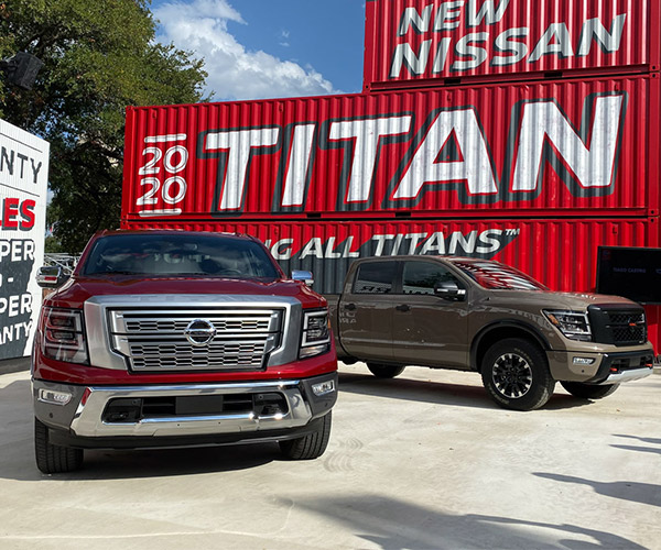2020 Nissan TITAN Brings Styling and Tech Upgrades
