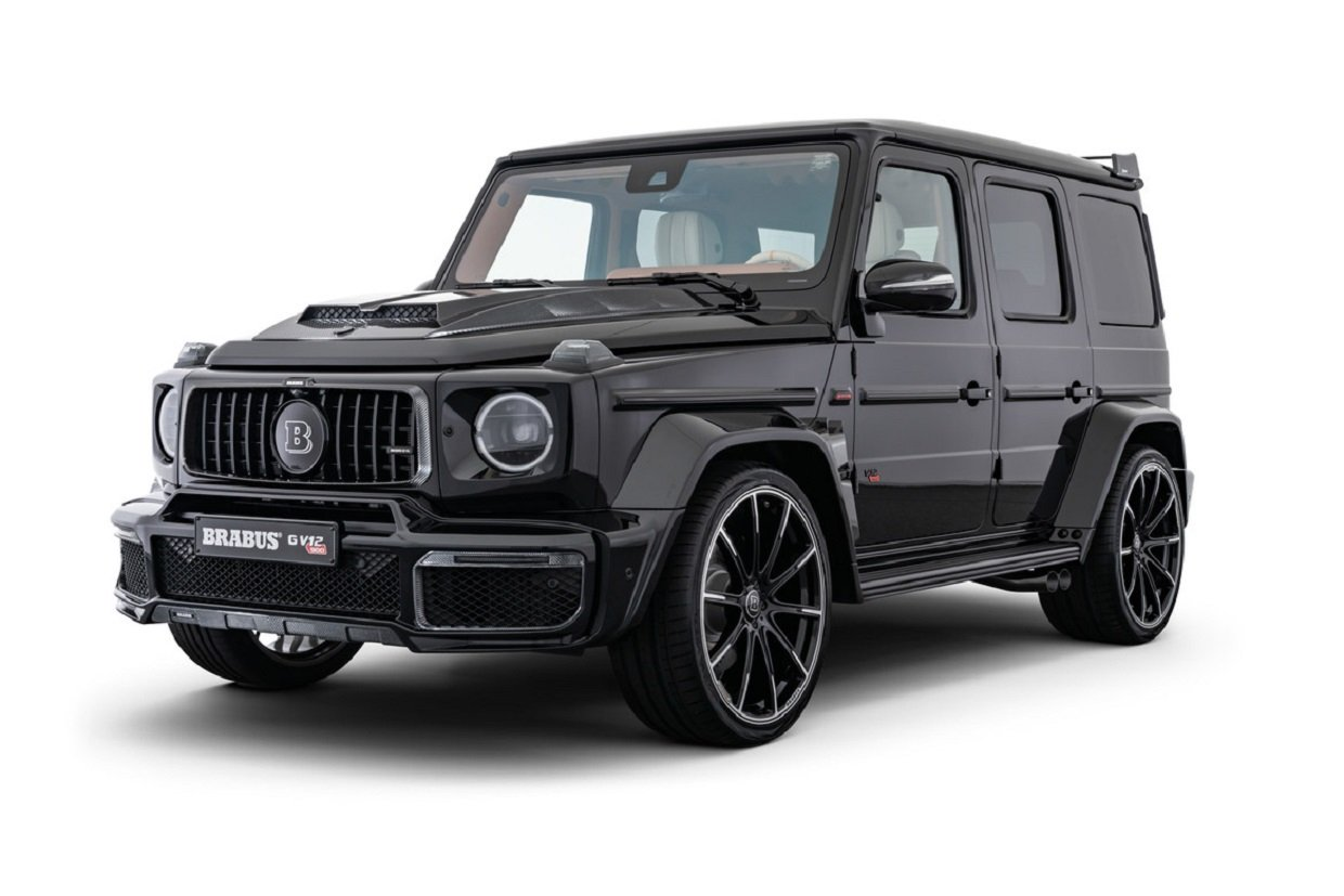 "Brabus G V12 900: ""One of Ten"" Elite Benz Badasses"