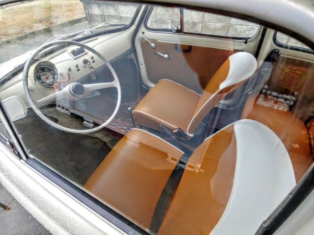 Fiat Nuova 500 original interior