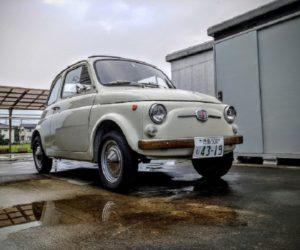Carspotting Japan: Classic Fiat Nuova 500