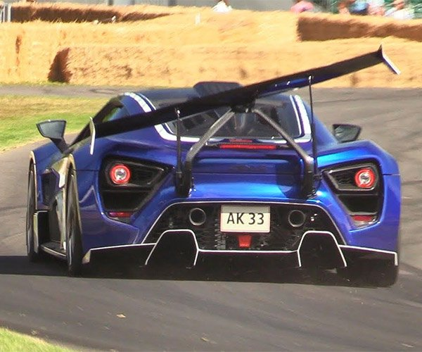 Spoiler Alert: The Zenvo TSR-S Rear Wing Is Bonkers