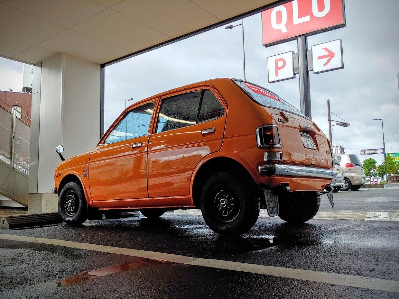 Carspotting Japan: Bright Orange, Mint Condition '70s ...