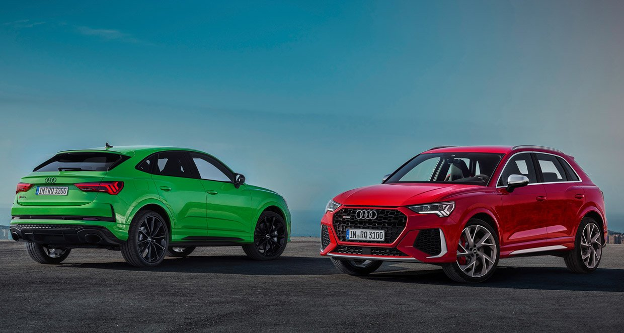 2020 Audi RS Q3 and Audi RS Q3 Sportback Bring the Power