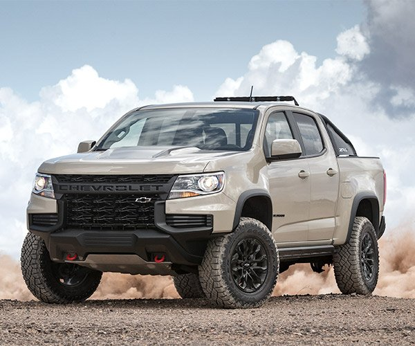 2021 Colorado ZR2 Has a Bold New Face