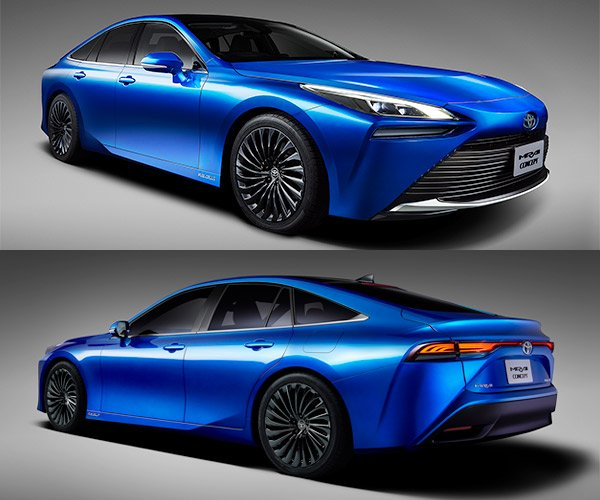2021 Toyota Mirai Concept Is a Major Upgrade
