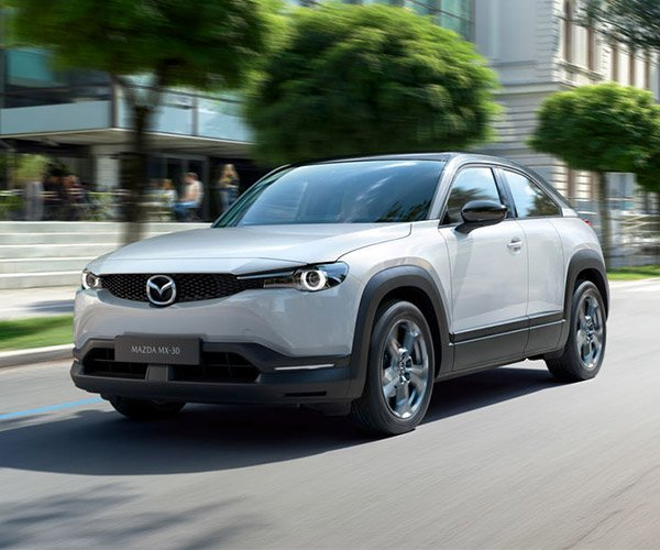The MX-30 Is Mazda's First Production EV, and It Looks Nifty