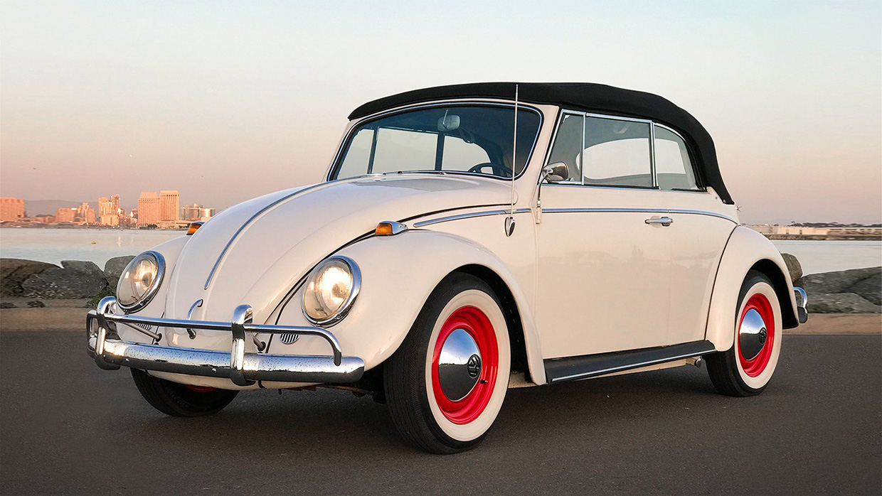 Omaze Giving Away Electric VW Beetle Convertible