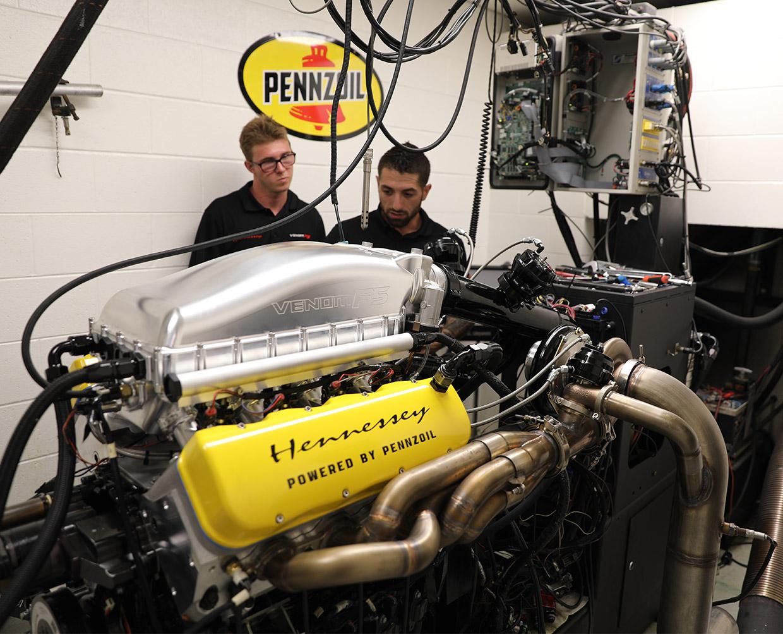 Hennessey Venom F5 Engine Makes An Astounding 1817 Horsepower