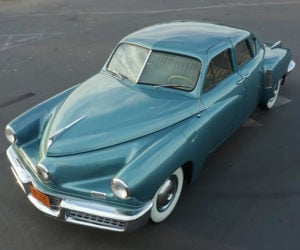 Exquisite Waltz Blue 1948 Tucker 48 Going up for Sale