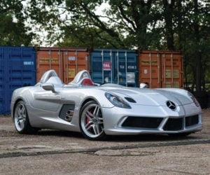 Rare 2010 Mercedes-Benz SLR Stirling Moss Heads to Auction