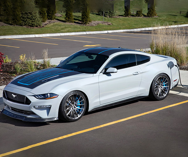 Mustang Lithium Teases Ford's Electric Future