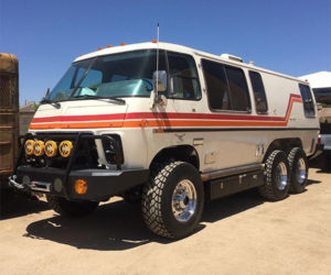 This Lifted GMC Motorhome Is Completely Bonkers