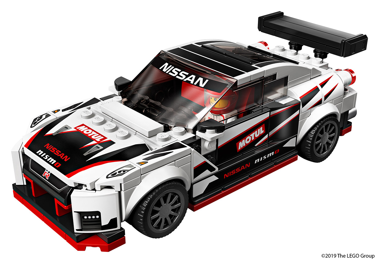 Nissan Teams Up with LEGO for GT-R NISMO Model