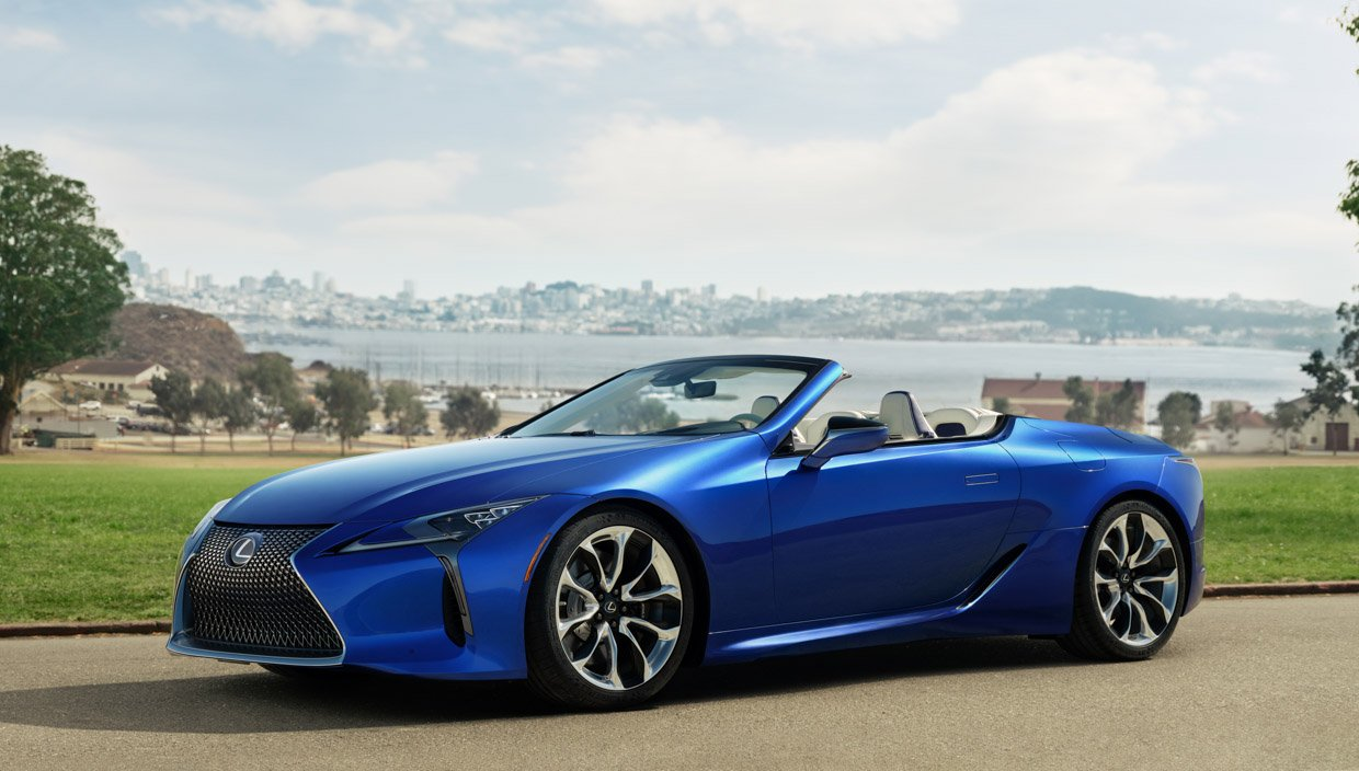 2021 Lexus LC 500 Convertible: The Beauty Drops Her Top