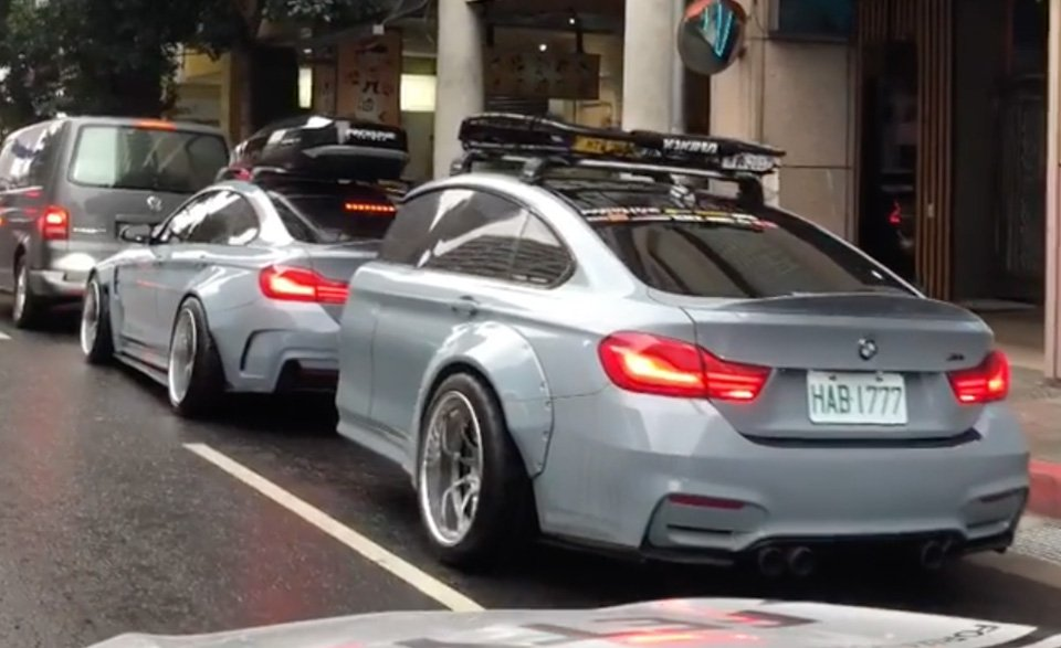 This BMW Gran Coupe Has a Matching Twin Trailer