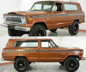 This Year One 1974 Jeep Cherokee Is a Brutish Beauty