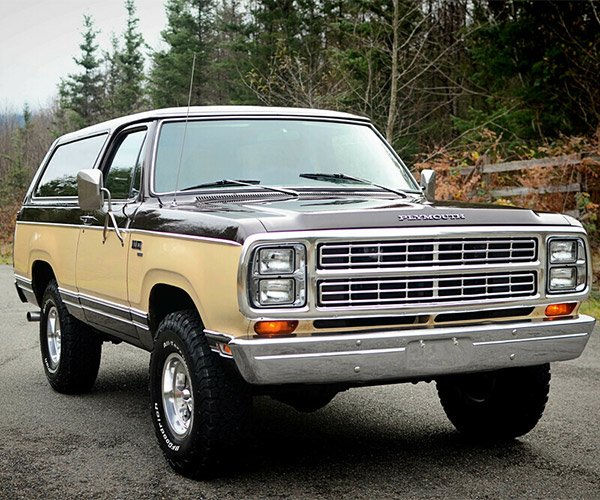 This 1979 Plymouth Trailduster Is Retro Fantastic