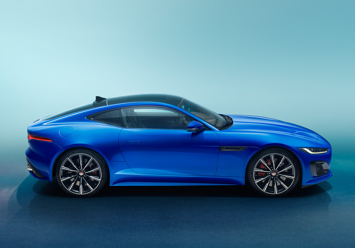 2021 jaguar ftype gets a new face and new tech