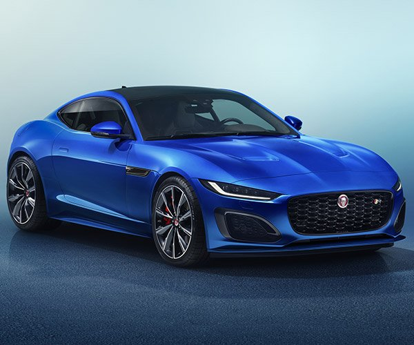 2021 Jaguar F-TYPE Gets a New Face and New Tech