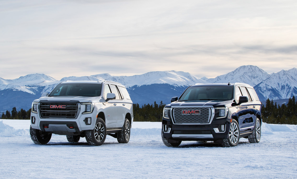 2021 GMC Yukon Breaks Cover in Colorado