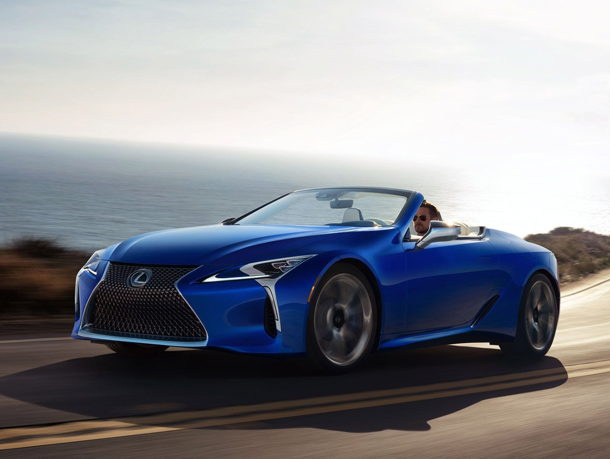Lexus LC 500 Convertible #1 Going up for Charity Auction