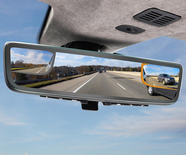 Aston Martin Shows off Triple-Camera Rearview Mirror