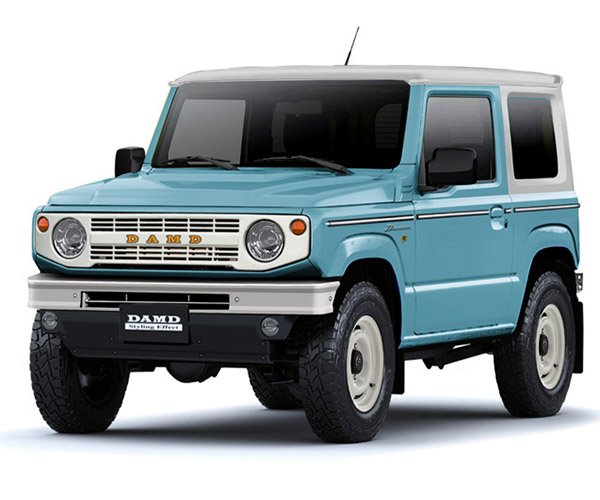 DAMD Dronco Turns Suzuki Jimny Into a Baby Ford Bronco
