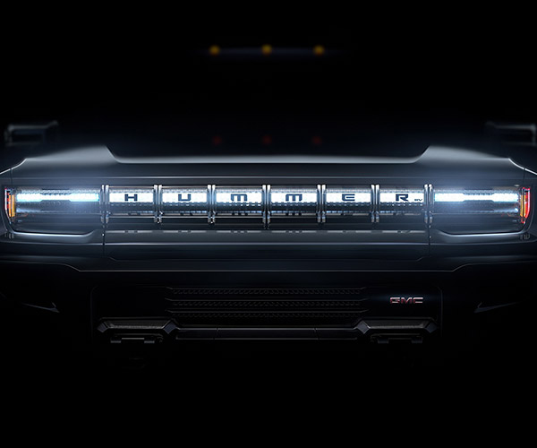 1000 Horsepower GMC Hummer EV Teased for Super Bowl Ad