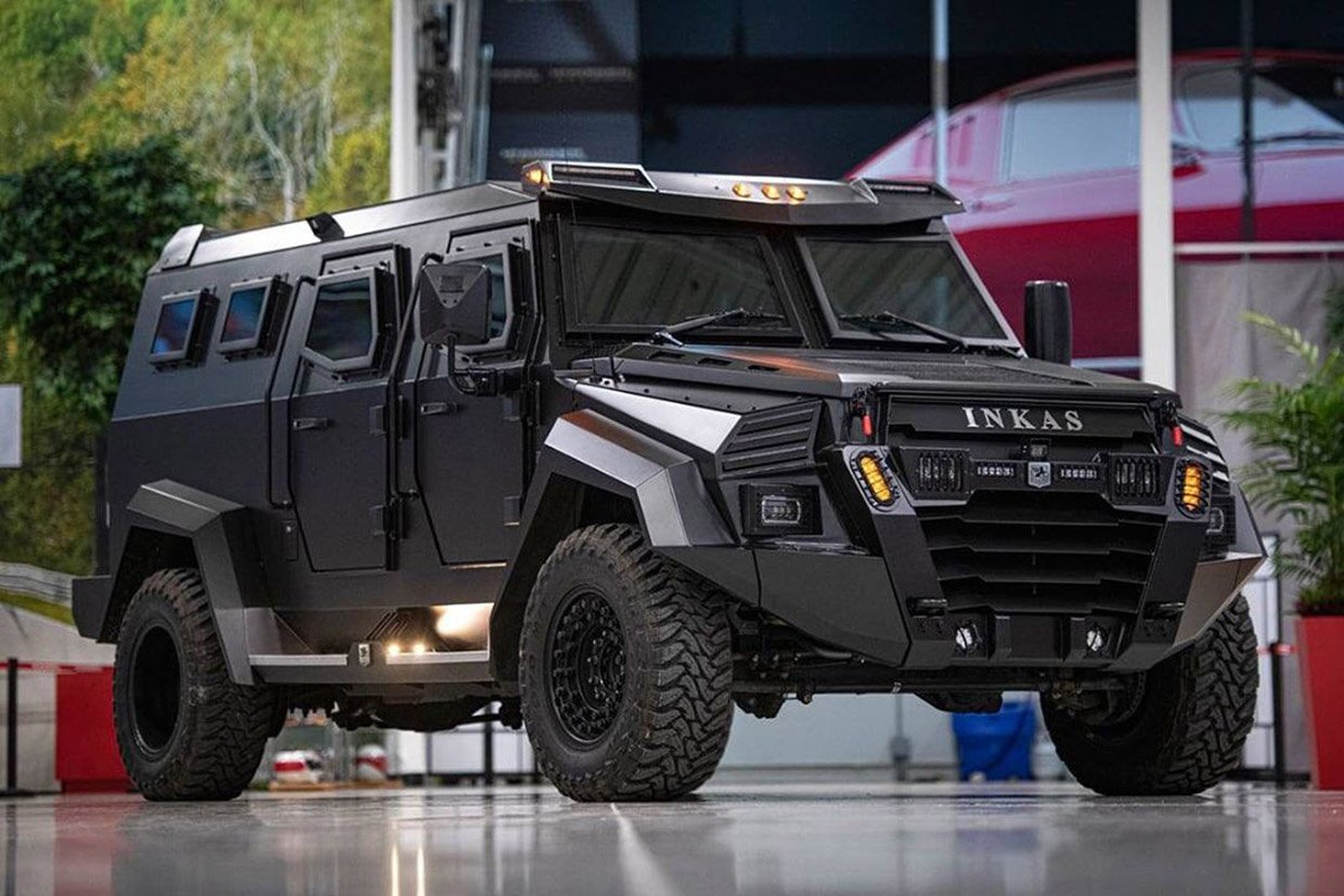 The INKAS Sentry Civilian Is an Armored Ford F-550 Truck for the Wealthy