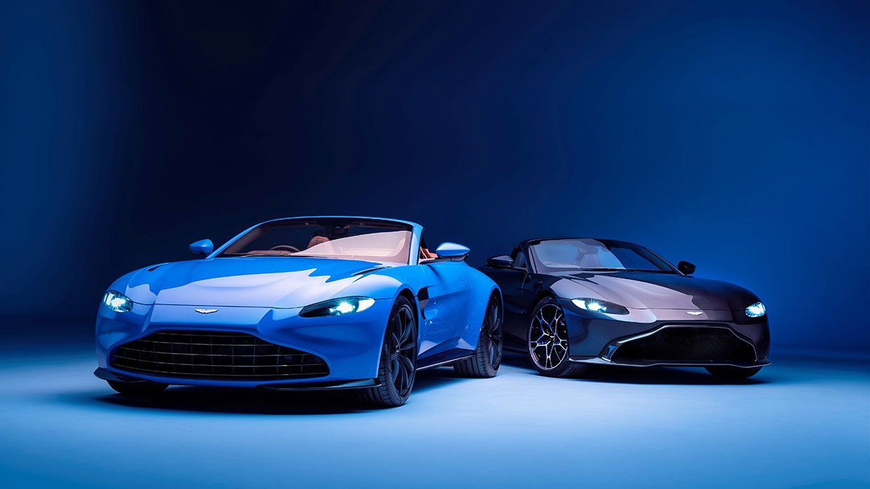 2021 Aston Martin Vantage Roadster Opens Up